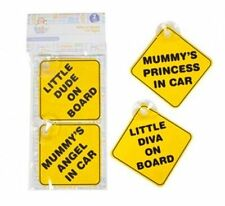 BABY CAR SIGNS Baby Girl Boy Child On Board Non Personalized Car Sign UK
