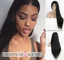 Best Remy Human Hair Straight Wigs Indian Hair Lace Front Wigs For Black Women