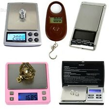 200gx0.01g Jewelry LCD Electronic Digital Scale 25kg/5g Kitchen Weight BLLT