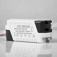 LED DRIVER ELECTRONIC TRANSFORMER 3-24W CONSTANT CURRENT 300mA POWER SUPPLY