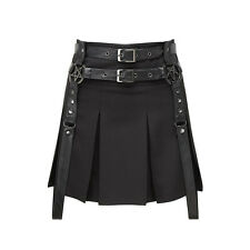 Skirt Jupe Killstar Mayhem Light The Fire Pentagram Gothique Gothic Witch Dark
