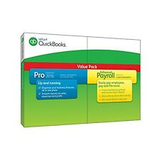 QuickBooks Pro 2016 Small Business Accounting Software with Enhanced Payroll