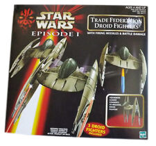 Hasbro Star Wars Trade Federation Droid Fighters Episode 1 Action Figure