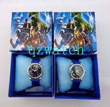 New 5/10/20/30 PCS The Avengers Kids Cartoon Watches W/Gift boxes Wholesale