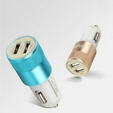 Dual USB Port Car Charger Mini Adapter For Smart Mobile Cell Phone Universal