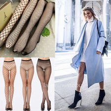 Women Lady Fishnet Net Mesh Pattern Hoise Pantyhose Tights Black Sexy Stocking