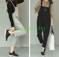 Korean Women's Trousers Strappy Loose Romper Overall Suspender Jumpsuit New Hot