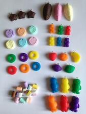 Lot 2 Fimo Sweet Charms Haribo bundle Lovehearts Polos Jelly Babies Foam 10 50