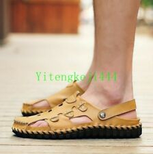 Fashion Mens Sandals Beach Walking Summer Casual Hollow out flats leisure Size Y