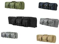 """Vism By Ncstar Double Carbine Case 36"""" Padded Double Rifle storage 6 colors"""