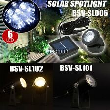 Solar Powered Outdoor Garden Landscape Yard Spot Light Lawn Lamp Spotlight O1C