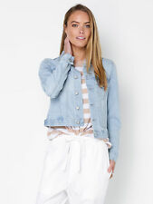 New Assembly Womens Femme Denim Jacket In Blue Jackets Denim Foundations