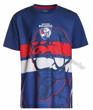 Western Bulldogs 2017 AFL Sublimated Training Shirt 'Select Size' S-3XL