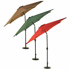 Grand Patio Patio Umbrella 9FT Aluminum with Crank and Tilt Choose Your Color