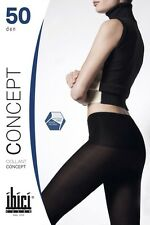 Ibici Concept 50 - Luxury No Waistband Sheer to Waist Hipster Tights
