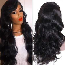 A+++ Silk Top Brazilian Virgin Human Hair Full Lace Wig Lace Front Wig Baby Hair