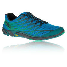 Merrell Bare Access 4 Mens Blue Trail Running Sports Shoes Trainers Pumps