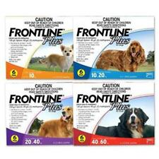 FRONTLINE PLUS Topical Treatment for Dogs (6-Pack) in Blue, Orange, Purple, Red