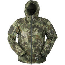Mil-Tec Hardshell Breathable Jacket Outdoor Tactical Water Repellent Mandra Wood