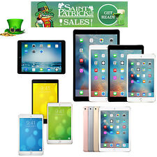 Apple iPad Air 12 9 7in,mini,2,3,4 Pro iOS AT&T,T-Mobile,Sprint,Verizon Wi-Fi