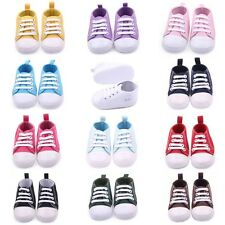 Toddler Baby Boy Girl Kid Lace Sneakers Soft Sole Crib Shoes Boots Boot Booties