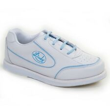 New! Linds BETTY Womens Bowling Shoes White/blue size 9.5