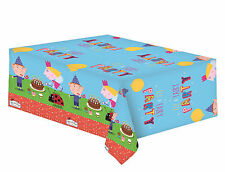 Ben & Holly | Gaston | Elf & Fairy Plastic Party Tablecover | Tablecloth 1-5pk