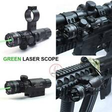 Pro Tactical Outside Adjusted Hunting Rifle Green Red Laser Sight Dot Scope UK