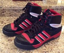 MENS ADIDAS HIGH TOP SNEAKERS/BASKETBALL/ATHLETIC SHOES EVM 004001  SZ 11 1/2