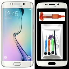 Replacement Front Outer Screen Glass Lens Tools+Glue For Samsung Galaxy S6 Edge