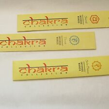 Incense Chakra Collection -10g- Healing- meditation- cleansing- mind -body- soul