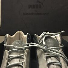 HUSSEIN  CHALAYAN - PUMA GLIDE ll MID MEN US SIZE 10, GREY SNEAKERS