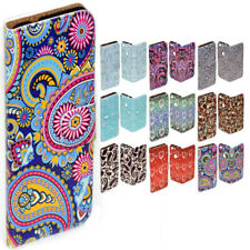 For Samsung Galaxy S8 S8+ A5 (Not 2017) Paisley Pattern Print Wallet Phone Cover