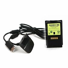 New Ni MH 4800mAH Rechargeable battery pack For XBOX 360 & chargeable cabBX