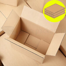 DOUBLE WALL REMOVAL MAILING CARDBOARD BOXES  FULL RANGE OF SIZES & FAST DELIVERY
