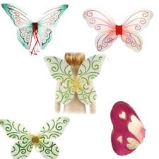 Lovely Kid Girls Glitter Butterfly Angel Fairy Wings Party Dress Up Outfits