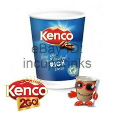 In Cup, Incup Drinks 12oz, 340ml Foil Sealed 2GO, Kenco Coffee Black or White