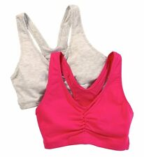 Hanes H570 Cotton Pullover Bra - 2 Pack