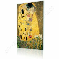 CANVAS (Rolled) The Kiss Gustav Klimt Paintings Canvas For Home Decor Artwork