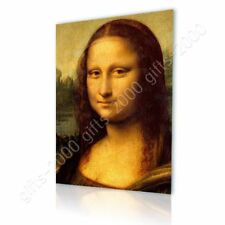 Alonline Art - CANVAS (Rolled) La Gioconda Leonardo Da Vinci Wall Decor
