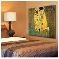 Alonline Art - POSTER Or STICKER Decals Vinyl The Kiss Gustav Klimt Artwork