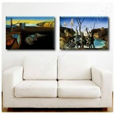 Alonline Art - POSTER Or STICKER Decals Vinyl Persistence Memory Swans Elephants