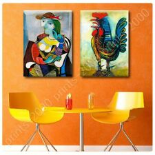POSTER Or STICKER Decals Vinyl Marie Therese Rooster Pablo Picasso Set Of 2