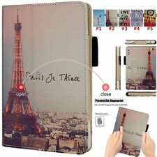 Flip Wallet Leather Case Folding Stand Cover For Amazon Kindle Fire HD 7 Tablet