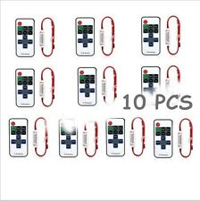 2/5/10PCS 12V RF Wireless Remote Switch Controller Dimmer for LED Strip Light AL