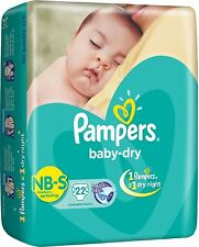 (small size) Pampers Baby Dry Diapers  - Free Shipping