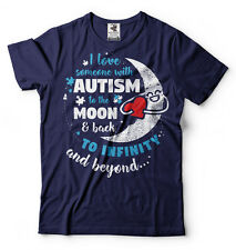 Autism T-shirt Autism Awareness T-shirt I Love Someone With Autism T-shirt