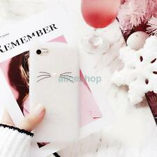 Candy Jelly Glitter Smile Cat Silicone Case Cover for iPhone 7 7 Plus 6 6S Plus