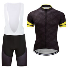 New Men's Cycling Jerseys Short Sleeve MTB Bike Bicycle Shirts Bib Shorts Suits