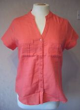 New M&Co - size 10 - 18 - lovely PINK LADIES linen mix ladies TOP/tunic - BNWoT